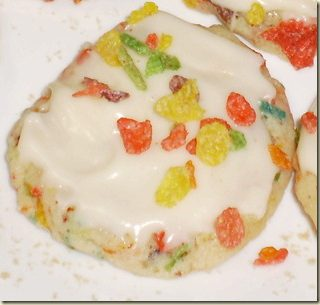 Fruity Pebbles Cookies