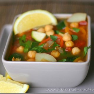 Chickpea Veggie Soup with Smoked Paprika (GIVEAWAY!!!)