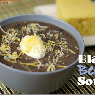 Healthy Black Bean Soup