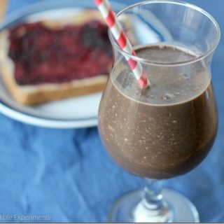 National Breakfast Month: Healthy Chocolate Peanut Butter Breakfast Shake, General Mill's BFAST, and a GIVEAWAY!!!