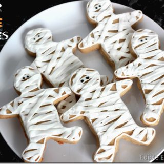 Easy Mummy Sugar Cookies