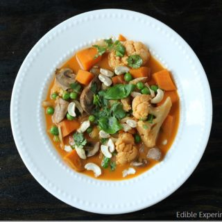 Crockpot Red Thai Veggie Curry