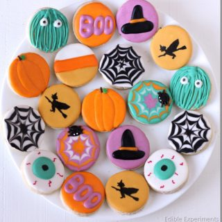 Cute Halloween Sugar Cookies