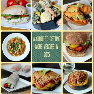 "My Answer to the Question ""So…What do you Eat?"" (A Guide to Eating More Veggies in 2015 and Tips for Successful Menu Planning)"