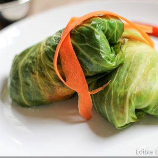 Thai Quinoa Cabbage Rolls (Vegetarian)