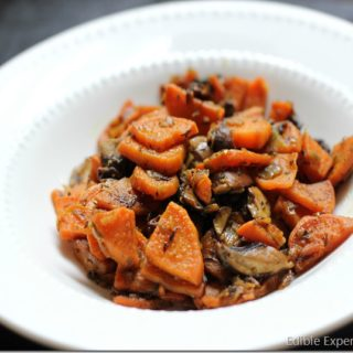 Sweet Potato and Mushroom Hash
