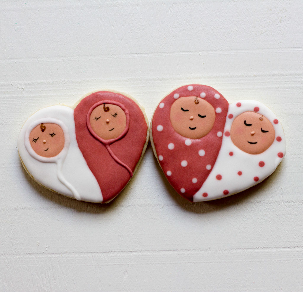 Twin Baby Sugar Cookies