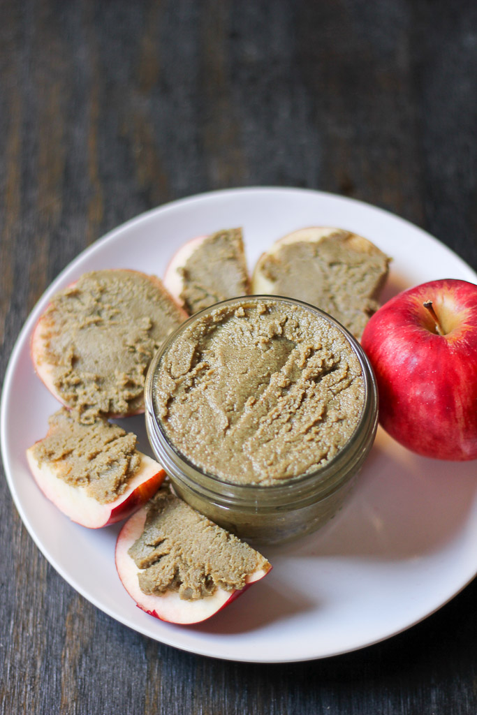 Homemade Nut Free Pepita and Sunflower Seed Butter