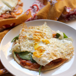 Easy Weeknight Huevos Rancheros