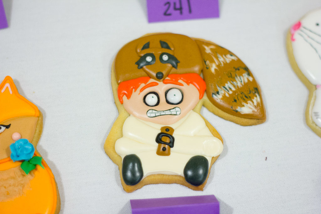 Cookie Con 2017 Mystery Shape Sugar Cookies