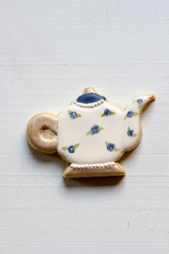 Cookie Con 2017 Teapot Sugar Cookie